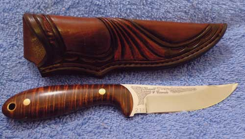 The Kravitt and Coombs Knife - Official Knife of Treestump Leather